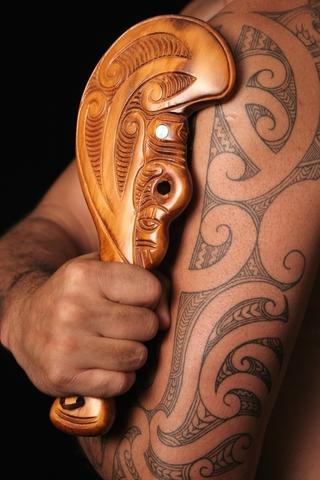 Maori moko (tattoos)